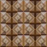摘要正方形棕色背景设计 库存图片