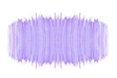 摘要水彩紫色紫罗兰色树荫样式纹理艺术手画在与拷贝空间的白色背景 免版税库存照片