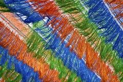 摘要色的丝带样式 库存照片