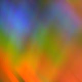 摘要色的彩虹 免版税图库摄影