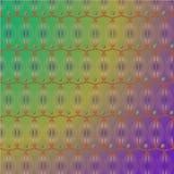 摘要色的梯度圆形传染媒介背景 免版税库存照片