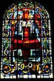 摘要艺术品与五颜六色的玻璃的 库存图片