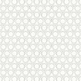 摘要葡萄酒黑白六角形样式设计背景 r 库存例证
