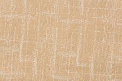 摘要被弄皱的桔黄色织品纹理背景 库存图片
