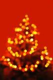 摘要被形成的被弄脏的圣诞节点燃结&# 库存照片