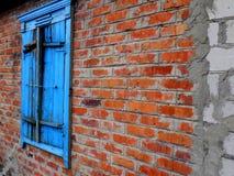 摘要被忘记的老房子背景 大厦墙纸背景 免版税图库摄影