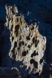 摘要被风化的岩石 图库摄影