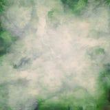 摘要被绘的水彩污点 免版税图库摄影