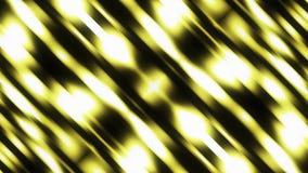 摘要软的blured发光的对角黄线条纹背景动画无缝的圈新的质量普遍行动 向量例证