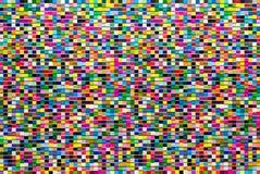 摘要,五颜六色的背景设计 生动和明亮的颜色 库存图片