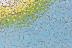 摘要,五颜六色的陶瓷砖样式 库存照片