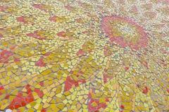 摘要,五颜六色的陶瓷砖样式 免版税库存照片