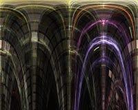摘要,幻想,数字图表行动混乱构思设计能量背景,分数维,力量科学 库存例证