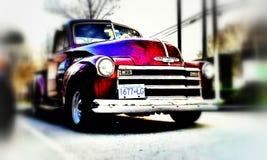 摘要1953年雪佛兰卡车 免版税库存照片