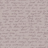 摘要handwritted速记无缝的样式 库存照片