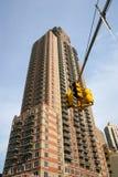 摩天大楼低角度视图 免版税库存图片