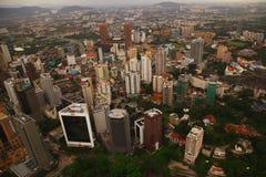 摩天大楼全景,吉隆坡 库存照片