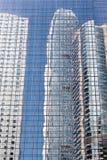 摩天大楼反射 免版税库存照片