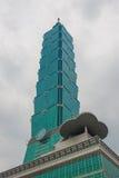 101摩天大楼台北 库存照片