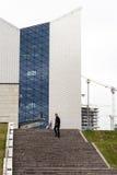 摩天大楼和新的办公室在维尔纽斯 免版税图库摄影