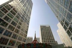 摩天大楼在北京 免版税库存图片