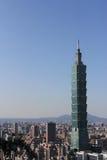 摩天大楼在台北,台湾 免版税库存照片