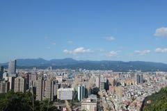 摩天大楼在台北,台湾 库存照片