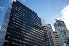 摩天大楼在圣菲 免版税库存照片