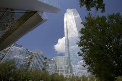 摩天大楼在奥克拉荷马市美国 库存照片