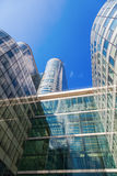 摩天大楼在拉德芳斯,巴黎,法国 图库摄影