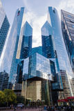 摩天大楼在拉德芳斯,巴黎,法国 免版税库存照片