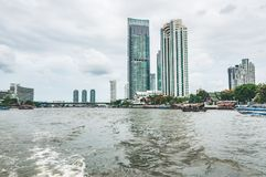 摩天大楼在曼谷 图库摄影