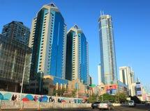 摩天大楼在深圳,中国 库存图片