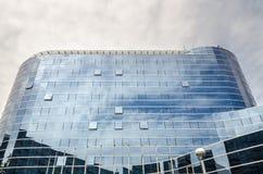 摩天大楼在温哥华 免版税库存图片