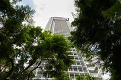 摩天大楼在特拉维夫 库存照片