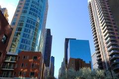 摩天大楼在纽约 免版税库存照片