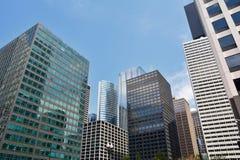 摩天大楼在芝加哥,伊利诺伊,美国 免版税库存照片
