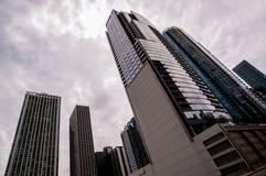 摩天大楼在芝加哥1 库存图片