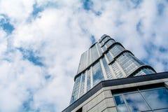 摩天大楼在萨拉托夫 免版税库存照片