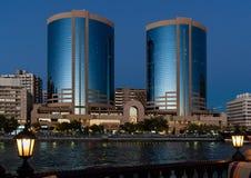 摩天大楼在迪拜 免版税图库摄影