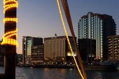 摩天大楼在迪拜 库存图片