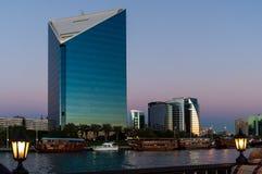 摩天大楼在迪拜 库存照片