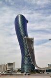 摩天大楼在阿布扎比 图库摄影