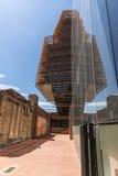 摩天大楼在巴塞罗那 库存照片