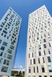 摩天大楼在巴塞罗那 库存图片