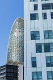 摩天大楼在巴塞罗那 免版税库存照片