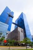 摩天大楼在巴拿马城 免版税库存图片