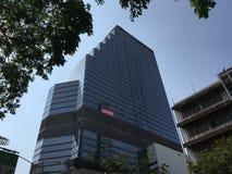 摩天大楼在Silom 免版税库存图片