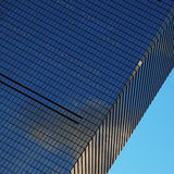 摩天大楼墙壁 库存图片