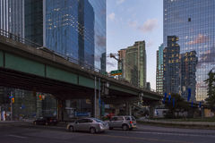 摩天大楼多伦多 库存照片